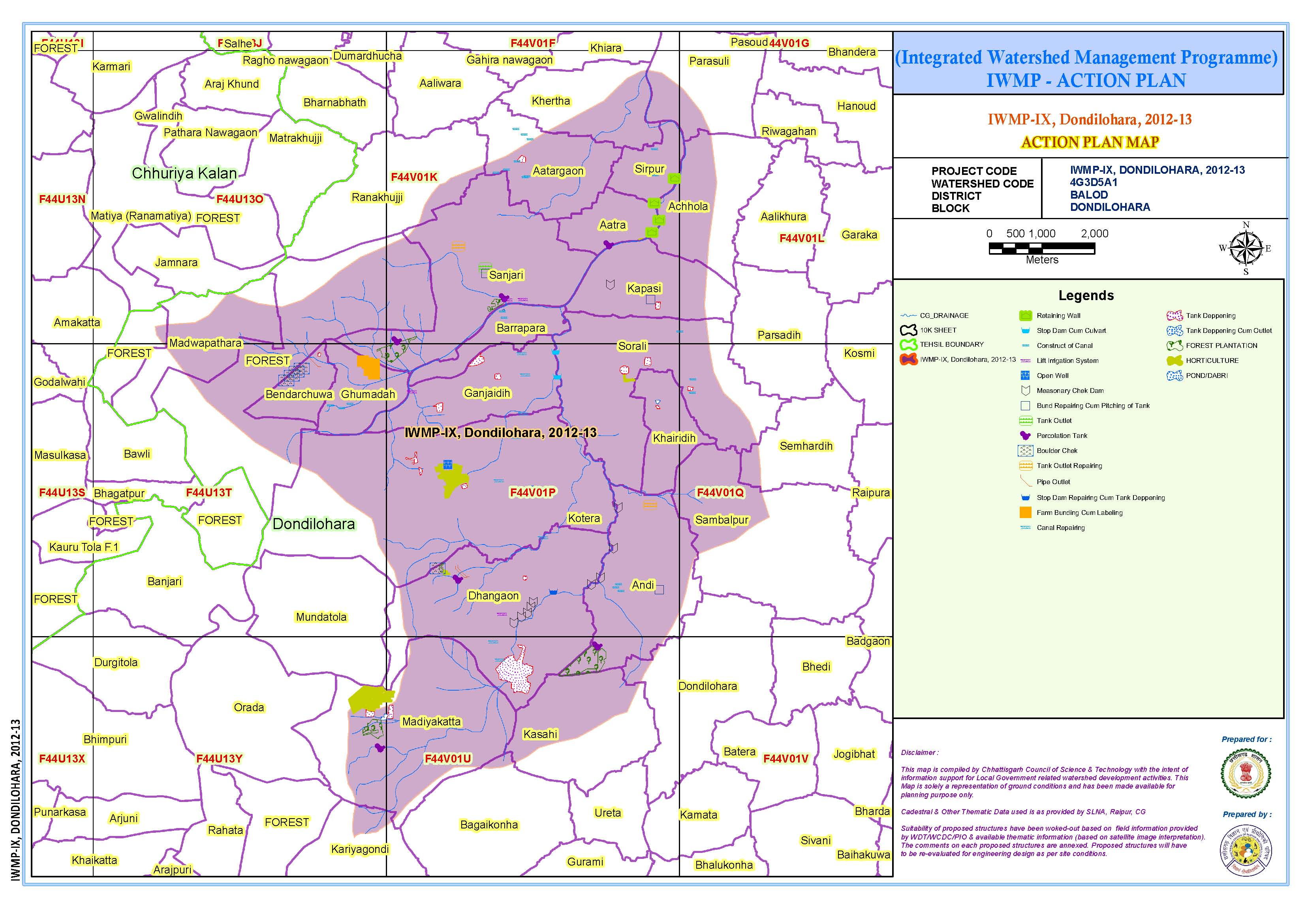 Integrated watershed management programme